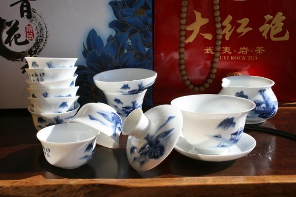 Набор для чайной церемонии Шань Шуй