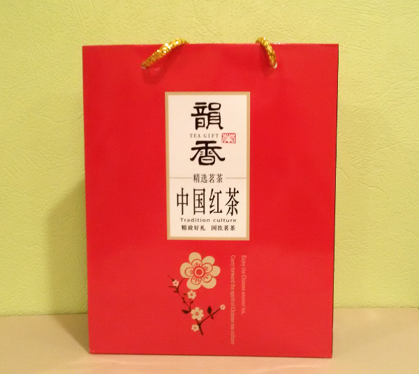 Подарочный пакет для красного чая