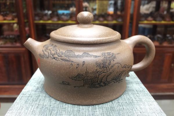 Исинский чайник из Дуанни